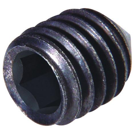 Vis pointeau acier trempé bleui Fix'Pro - Longueur 10 mm - Diamètre 4 mm - Vendu par 6