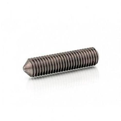 Vis sans tête 6 pans creux à bout pointeau 4 x 8 mm STHC INOX A2 - Boite de 200 pcs - Diamwood HCPO04008A2 - -