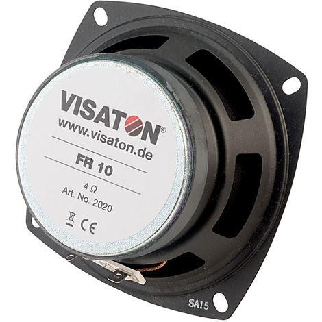 Visaton FR 10 - 4 Ohm Round Fullrange Speaker 10cm