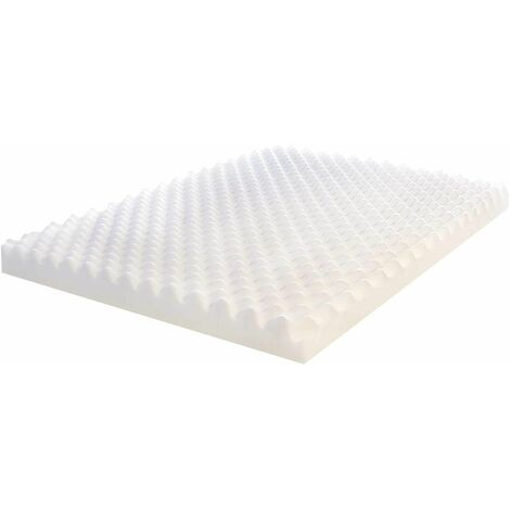 """main image of """"Visco Therapy Egg Box Memory Foam Cut Off, Use For Dog Beds/Pads, - Medium"""""""