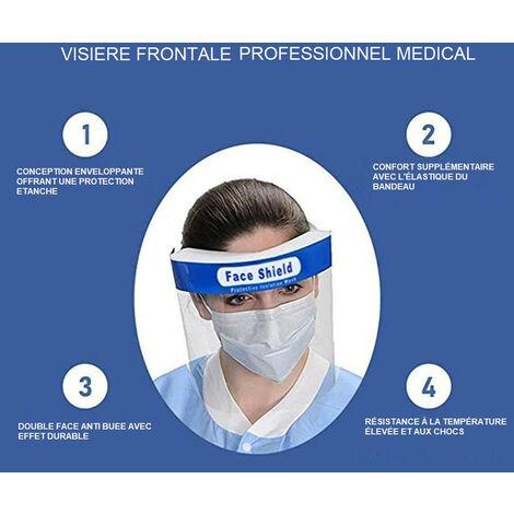 VISIERE DE PROTECTION PAR LOT DE 10 - MEDICA GUARD