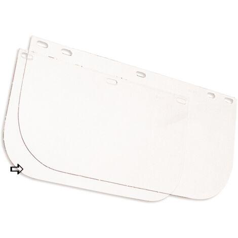 Visière de protection SINGER pour EVA805 en polycarbonate incolore - 305x200mm ép.1mm - ACC805