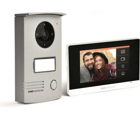 VisioDoor 4.3+ - Interphone vidéo filaire avec moniteur extra plat tactile 4,3