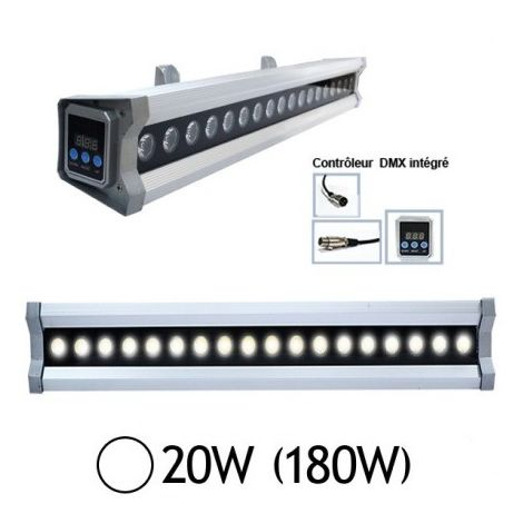 Vision EL-8020 LED de pared exterior que lame 20W 15