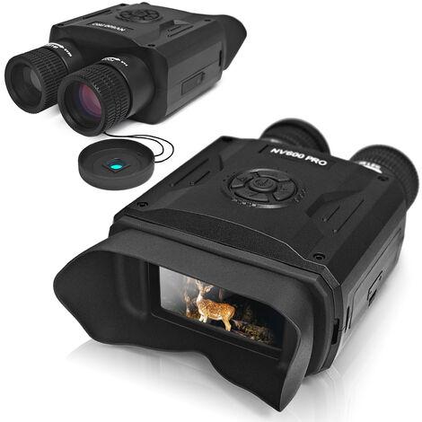 """main image of """"Visione notturna digitale a infrarossi ad alta definizione a doppio tubo da 3,5 pollici con ampio schermo NV600, foto e video giorno e notte PRO"""""""