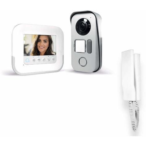 Visiophone 2 fils avec accès RFID - Ylva 3+ - Avidsen - 4,3 pouces + interphone