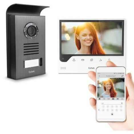 Visiophone 7 pouces connecté à votre smartphone - Connect - Extel