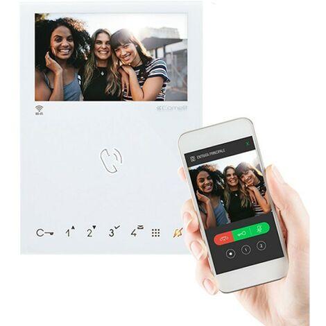Visiophone Comelit MINI à couleur mains libre -Wifi 6741W
