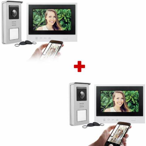 Visiophone filaire Connecté - Thomson Smart Connect - Lot de 2 Visiophones Thomson Smart Connect