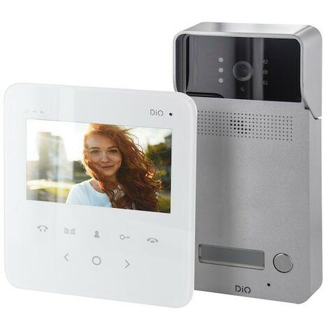 """Visiophone multi appartement DiO avec écran 4,3"""""""