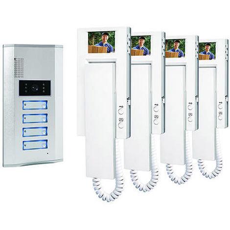 Visiophone pour 4 appartements - Smartwares