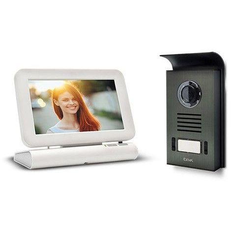 """main image of """"Visiophone sans fil Extel LESLI avec mémoire de passage - Visiophone"""""""