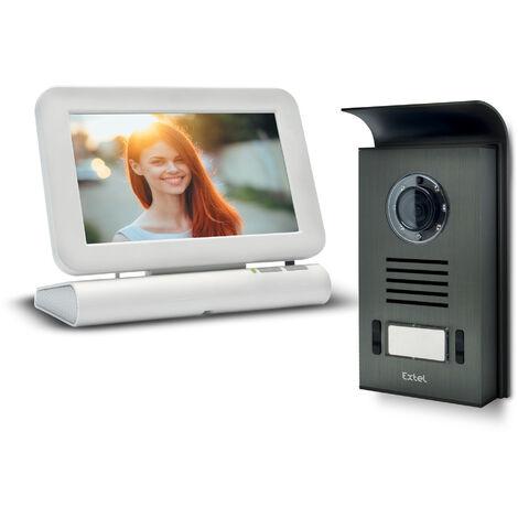 Visiophone sans fil Extel LESLI avec mémoire de passage - Visiophone