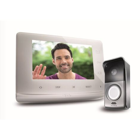Visiophone V300 pour 1 à 2 logements - Somfy