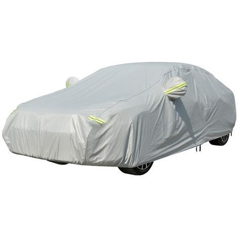 Vislone Universal Full Car Cover, Proteccion UV, Traje M-XXL