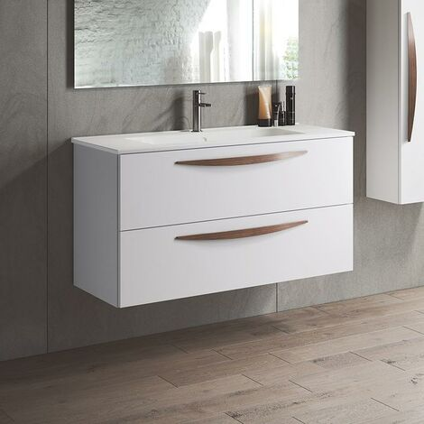VISOBATH 6204 ARCO 80 Mueble+Lavabo Blanco
