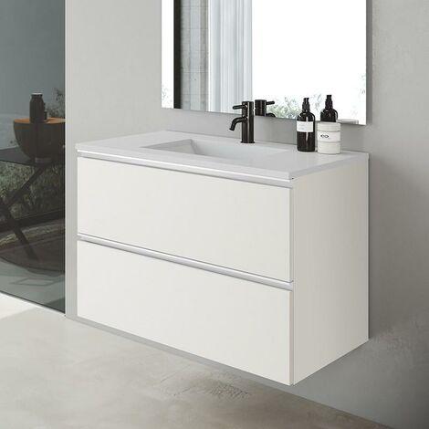 VISOBATH 6671 GRANADA 80 Mueble+Lavabo Suspendido Blanco