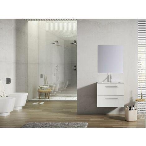VISOBATH 6873 NEW LOFT 50 Conjunto Mueble Blanco Brillo