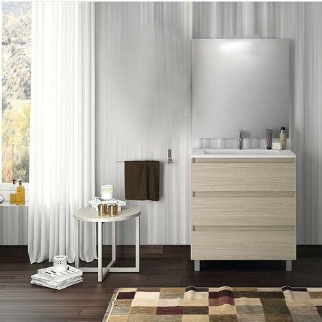 VISOBATH BOX Conjunto Mueble Completo 3 Cajones Crudo - Medida: 100 CMS