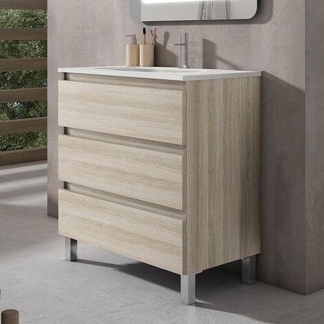 VISOBATH BOX Mueble+Lavabo 3C Crudo