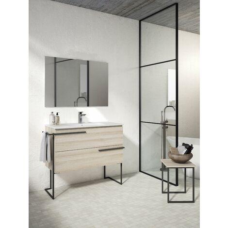 VISOBATH SCALA Conjunto Mueble Completo Con Estructura Crudo - Medida: 80 CMS
