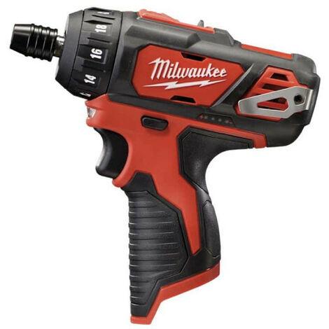 Visseuse 2 vitesses MILWAUKEE M12 BD-0 12V - sans batterie ni chargeur 4933441910