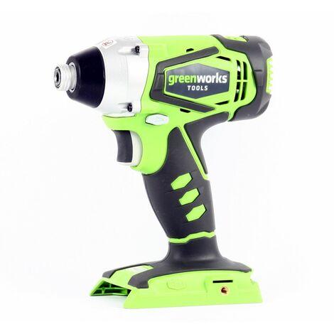 Visseuse À Choc Sur Batterie Greenworks 24v (sans Batterie Ni Chargeur) Greenworks Tools
