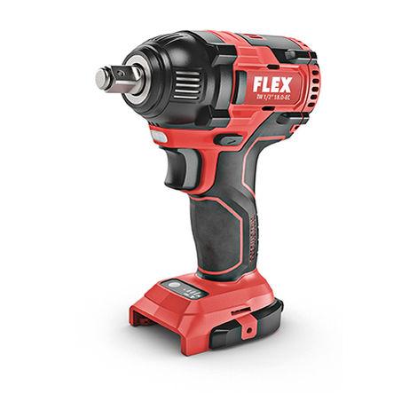Visseuse à chocs 18V IW 1/2 18.0-EC FLEX - sans batterie ni chargeur - en L-Boxx - 438308