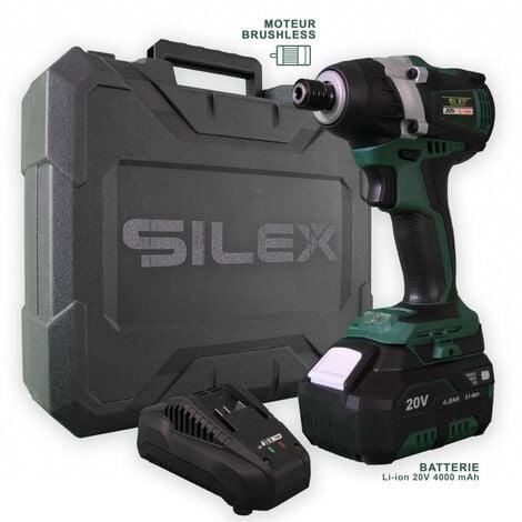 Visseuse à Chocs 20V Sans Fil Silex® 20V (1 x 4.0Ah Batterie Lithium )