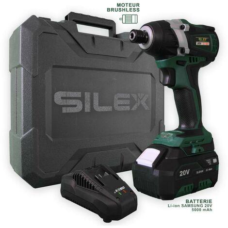 Visseuse à Chocs 20V Sans Fil Silex® 20V  (Batterie 5.0Ah Lithium samsung)