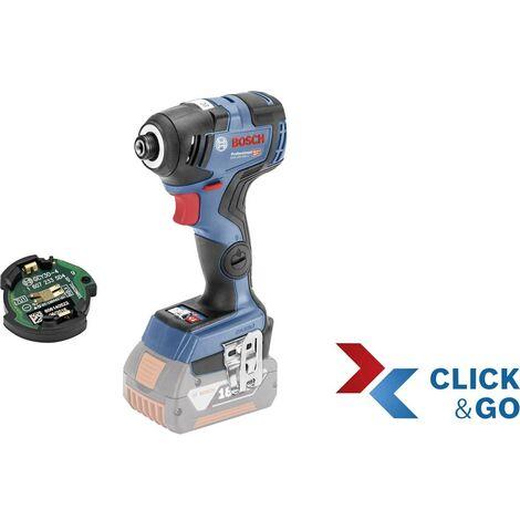 Visseuse à chocs sans fil Bosch Professional GDR 18 V-200 C solo C & G L-B connected 06019G4103 18 V Li-Ion sans batterie, + mallette 1 pc(s)