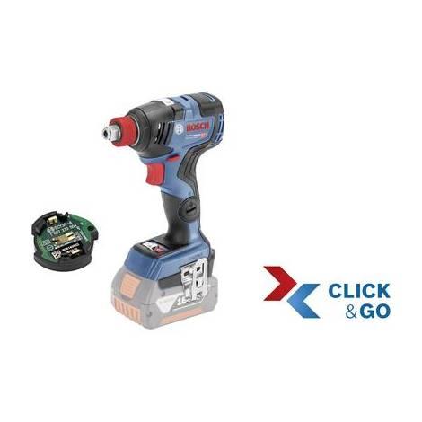 Visseuse à chocs sans fil Bosch Professional GDX 18V-200 C + CoMo, Click & Go 06019G4203 18 V Li-Ion sans batterie, + mallette 1 pc(s)