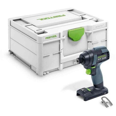 Visseuse à chocs sans fil TID 18-Basic FESTOOL - sans batterie ni chargeur - en Systainer3 - 576481