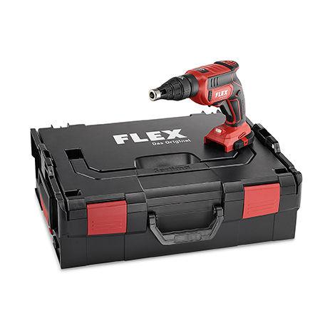 Visseuse à placo 18V DW 45 18.0-EC FLEX - sans batterie ni chargeur - en coffret avec accessoires - 447757