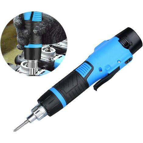 Visseuse électrique Tournevis Rechargeable Outil de forage de charge sans fil multifonction Couple réglable 12V