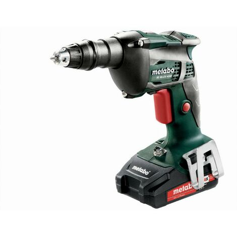 Visseuse METABO - SE 18V LTX 4000 2 x 2,0 Ah Li-Power, ASC 55, coffret - 620048500