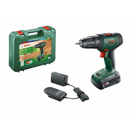 Visseuse-perceuse Bosch UniversalDrill 18 + 1 batterie - Vert