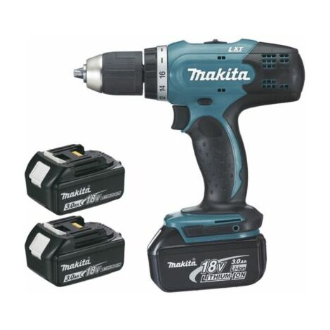 Visseuse-perceuse MAKITA - 18 V + 3 Batteries + chargeur