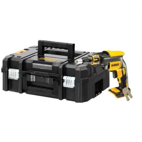 Visseuse plaque de plâtre DEWALT 18V XR - Sans batterie ni chargeur - En coffret T-STAK - DCF620NT