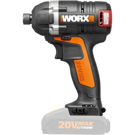 VISSEUSE PNEUMATIQUE BRUSHLESS 20V sans bat. WORX