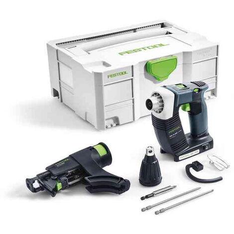 Visseuses sans fil pour plaquistes FESTOOL DWC 18-4500 - Sans batterie, ni chargeur - 574747