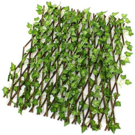 Vista de brisa de 40X70 cm Valla de jardín de follaje escalable LAVENTE