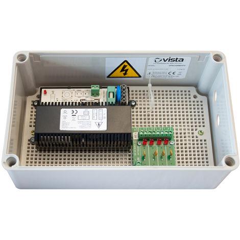 Vista VPSU1244 Power Supply 12VDC IP66 Plastic Housing - out 1000mA x 4 (12W)