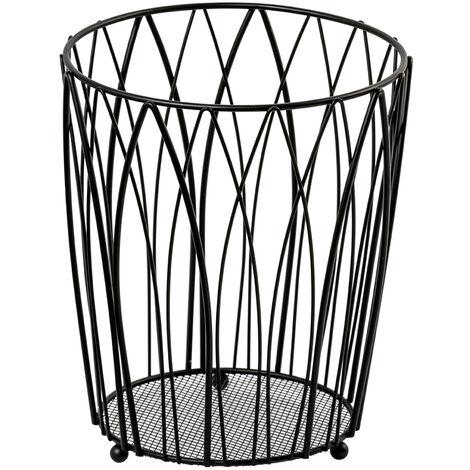 """main image of """"Vista Waste Paper Basket Black"""""""