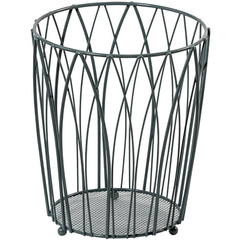 "main image of ""Vista Waste Paper Basket Grey"""