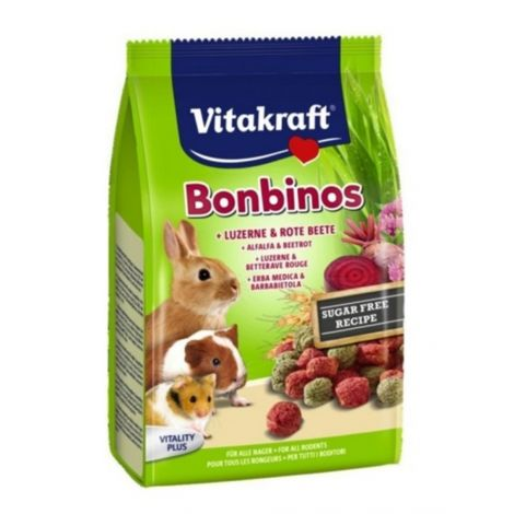 Vitakraft Bonbinos Betterave rouge & Luzerne