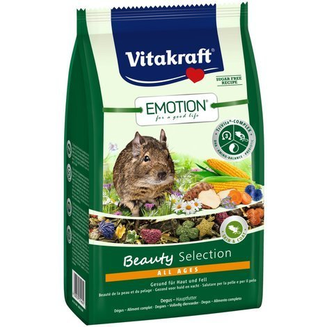 Vitakraft Emotion Beauty All Ages, Degu - 600g