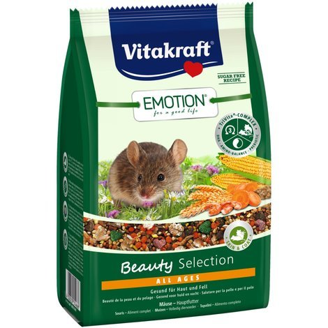Vitakraft Emotion Beauty All Ages, Mäuse - 300g