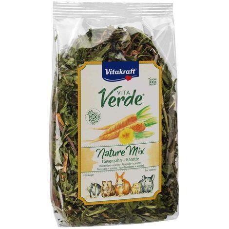 """main image of """"Vitakraft - Friandises Nature Mix Pissenlit et Carotte pour Rongeur - 100g"""""""