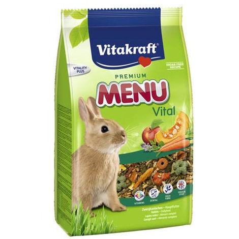 Vitakraft Menu Vital Conejos 1kg